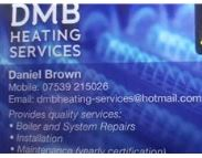 DMB Gas & Heating Services