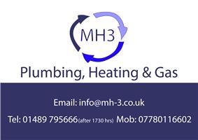 MH3 Plumbing, Heating & Gas Ltd
