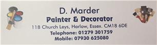 D Marder Painter & Decorator
