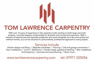 Tom Lawrence Carpentry