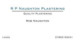 R P Naughton Plastering