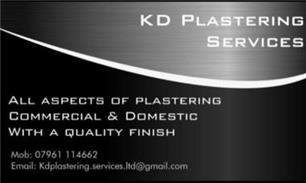 K D Plastering Services