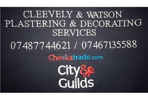 Cleevely & Watson Plastering and Decorating Services
