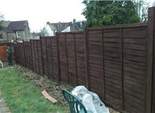 fence panels after