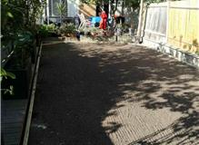 Laying artificial grass in Bromley