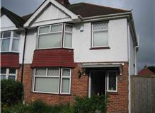 House in Hove, Customer requested Full ReRender, fascias, Soffits  Guttering to be Replaced