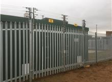 High security electric fencing gate install