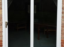 uPVC Patio Door in White