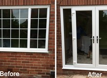 uPVC Window to uPVC French Door