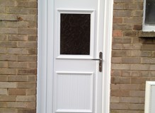 Luton Large Glazed uPVC Door