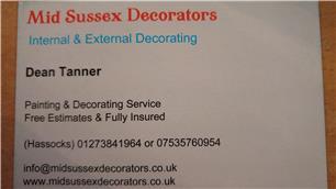 Mid Sussex Decorators