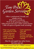 Tom Price Garden Services