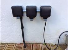 Switched fused spur ans two dimmers