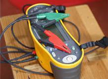 My test meters