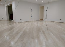 1200 x 300 wooden plank effect tiles laid on a 45 degree angle.