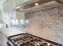 Glass brick tiles