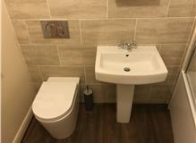 New basin & Wc