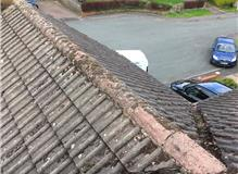 Ridges  and valleys needed cleaning repointing and bedding