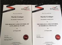 Up to date training certificates