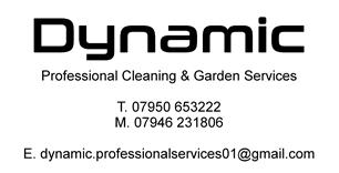 Dynamic Professional Cleaning and Garden Services
