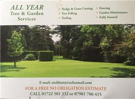 All Year Tree and Garden Services