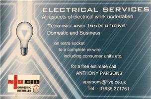 A Parsons Electrical Services