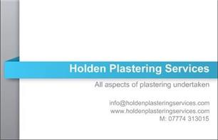 Holden Plastering Services