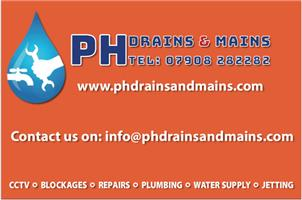 PH Drains and Mains