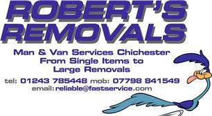 Robert's Removals Man & Van & Storage Services