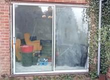 Old Ali patio door replaced with new PVC door in Nursling