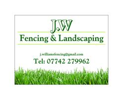 J.W Fencing & Landscaping