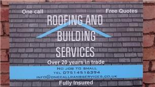 One Call Roofing and Building Services Ltd