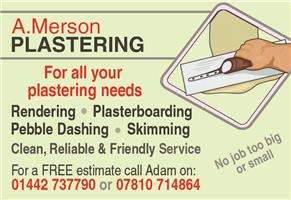 A Merson Plastering