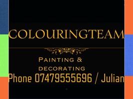 Colouring Team Decorators
