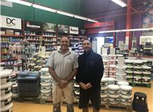 Paul Taylor and Brian Bell new member of the team, veteran of 30 yrs experience