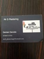 Mr D Plastering