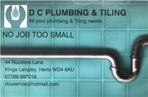 DC Plumbing and Tiling