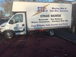 5c6f3faeb8 STS Van and Man Hire Services Ltd - Removals Storage based in ...