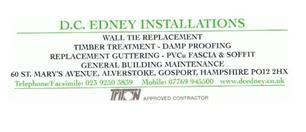 D C Edney Installations