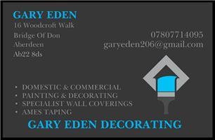Gary Eden Decorating