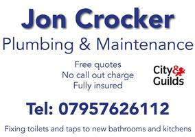 Jon Crocker Plumbing And Maintenance