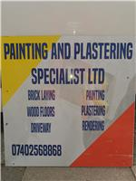 Painting and Plastering Specialists Limited