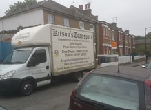 House relocation from London to Manchester into storage.