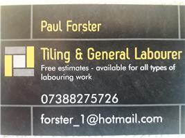 Tiling & General Labouring