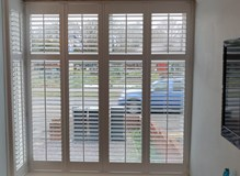 Square bay shutters in Fareham
