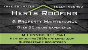 Herts Roofing & Property Maintenance