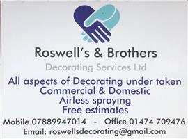 Roswell's & Brothers Decorating Services Ltd