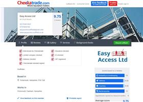 Easy Access Ltd