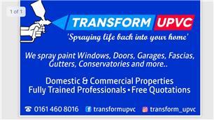 Transform UPVC Spraying Services