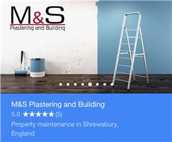 M & S Plastering and Building